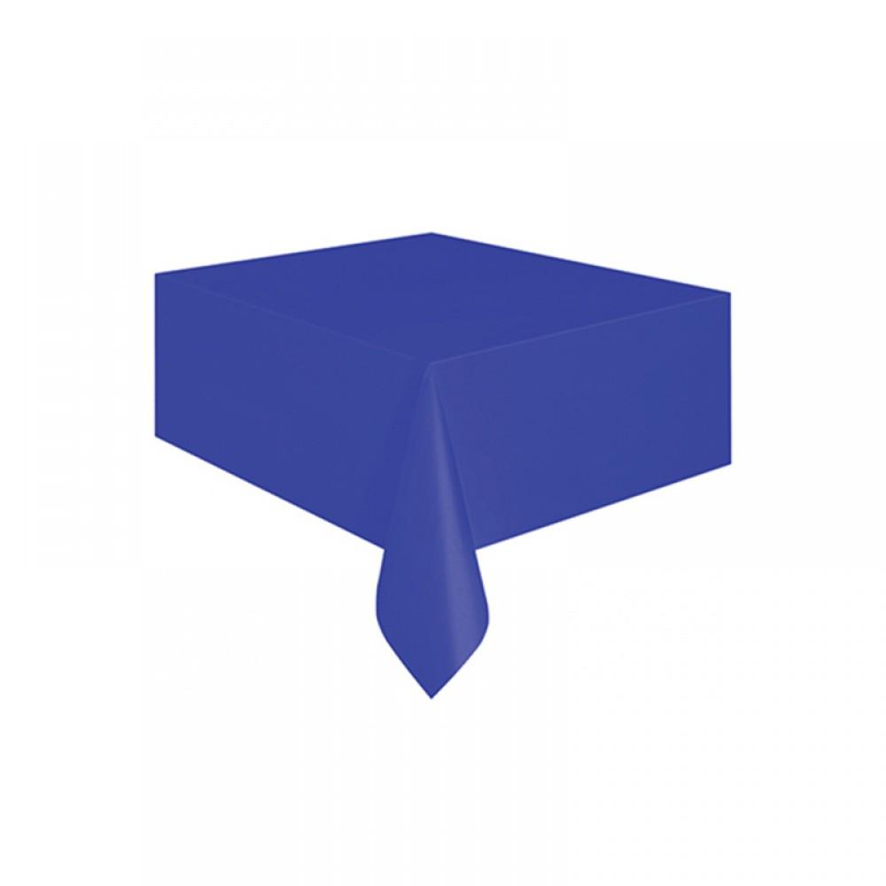 Lacivert Plastik Masa Örtüsü